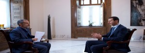 President al-Assad-Interview-Iranian Khabar TV