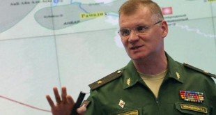 Russian Defense Ministry-spokesman
