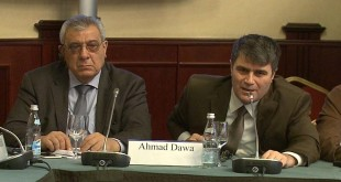 forum of Journalists of the Muslim Countries against Extremism-Moscow-SANA-Ahmad Dawa 1