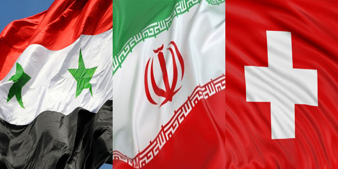 Syria-Iran-Switzerland