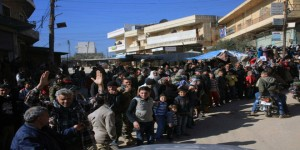 Mass celebration in Nubbul and al-Zahra 11