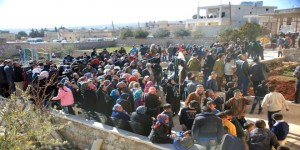 Mass celebration in Nubbul and al-Zahra 9