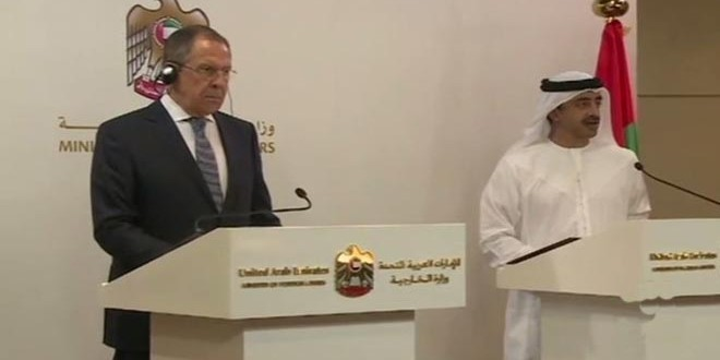 Russia - UAE Foreign Ministers