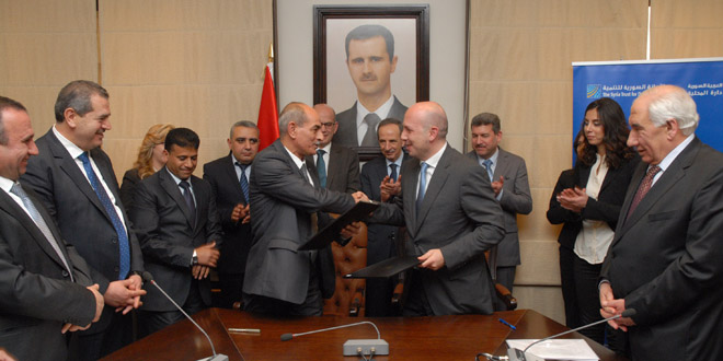 Syria Trust For Development Signs Agreement With Governorates To