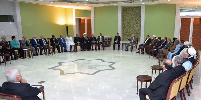 President al-Assad-Arab and Islamic Gathering for Supporting the Resistance 4