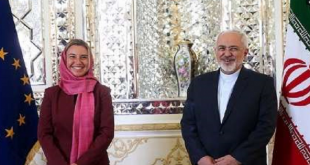 Mohammad Javad Zarif-EU foreign policy chief Federica Mogherini 1
