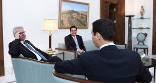 President al-Assad-US Senator Richard Black