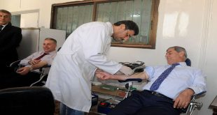 Syrians-athletes-Blood-drive-donation 2