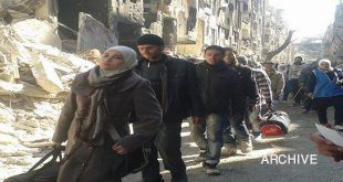 Yarmouk Camp-students 1