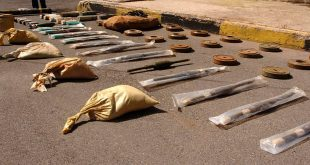 weapons-seized-terrorists-TWO missile-Israeli shells-Sweida 9