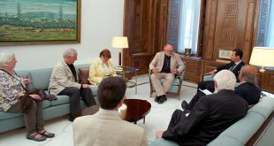 President al-Assad-British delegation 2