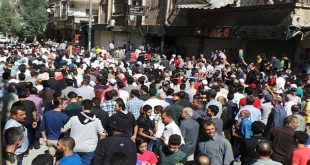 qudsaya-damascus-countryside-protest-against-armed-groups-reconciliation