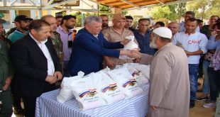 sweida-displaced-humanitarian-aid-russian-packages