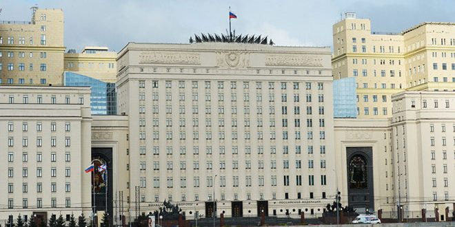 Russian Defense Ministry announces humanitarian pause in Aleppo