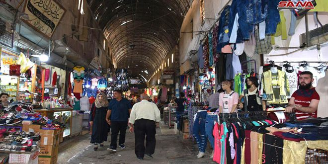 Souq al-Tawil in Hama city reflects the history and beauty of the city