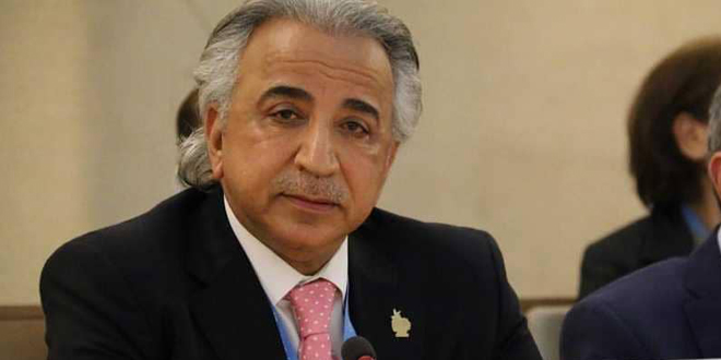 "Dashti : Silence about Western coercive economic sanctions against Syria in light of the corona pandemic ""human crime"""