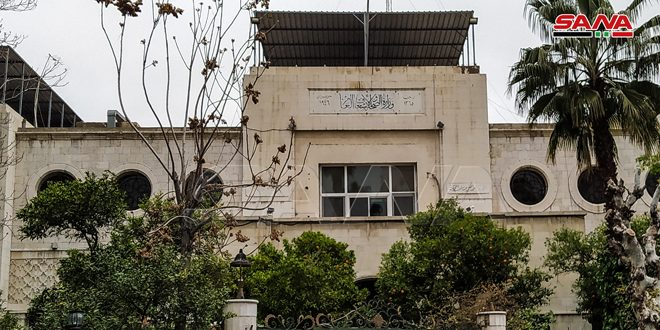 Health Ministry: As of Aug 22ndو running two flights weekly from Damascus International Airport to repatriate the Syrians