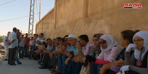 QSD militias threaten Hasaka Electricity Company's workers to use weapon to force them end their sit-in