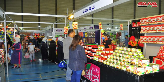 "100 industrial companies participate in monthly ""Made in Syria"" shopping festival in Damascus"
