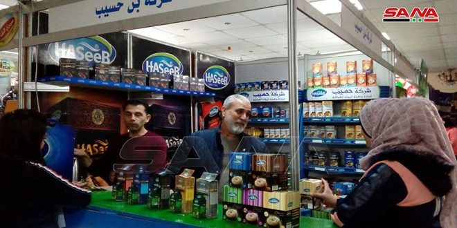 """With the participation of more than 100 companies, """"Made in Syria"""" festival activities kick off in Jableh"""