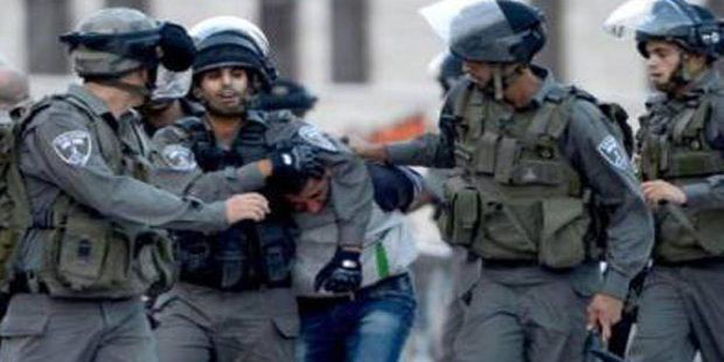 Update-Israeli occupation forces arrest 20 Palestinians in the West Bank