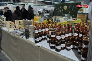 2nd Syrian Honey Festival starts activities at al-Jalaa Sport Hall, Damascus