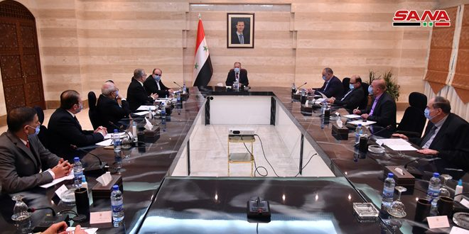 Arnous discusses with Syrian-Iranian Chamber of Commerce means to enhance economic relations