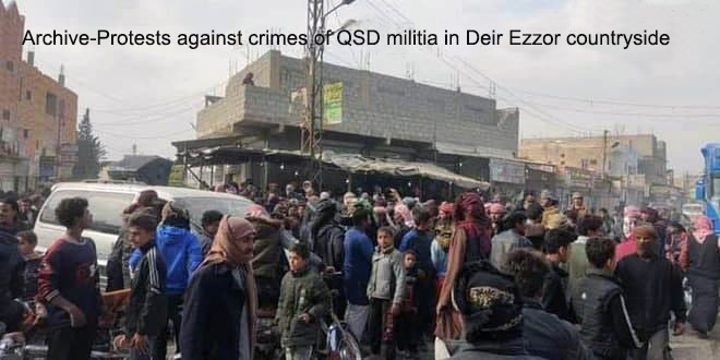 A number of QSD militia gunmen injured in two attacks in Deir Ezzor countryside