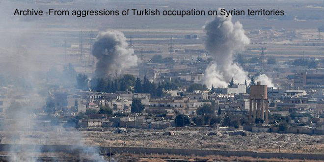 3 civilians martyred ,7 others injured in Turkish occupation shells attack in Aleppo countryside