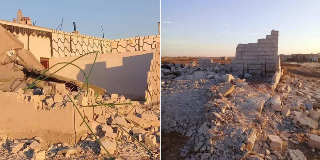US-backed QSD militia bulldozes dozens of houses in Raqqa City
