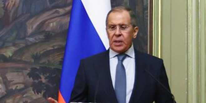 Lavrov: Interference in states' affairs and their sovereignty unacceptable