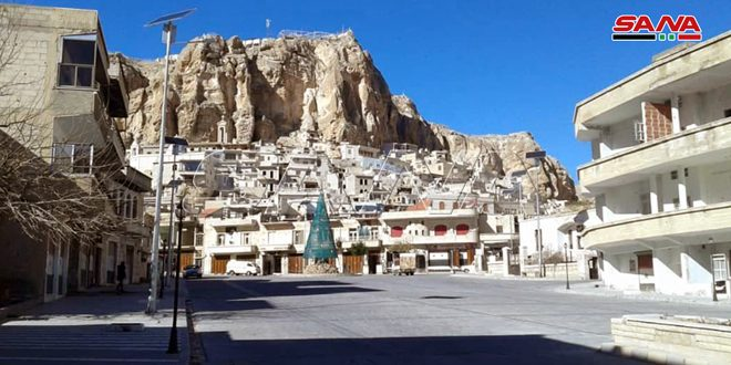 Ma'aloula municipality rehabilitates the eastern valley and establishes a visitor service center in the town