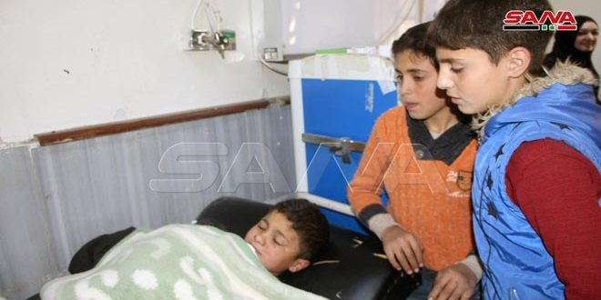 Three children injured in explosive device blast at eastern entrance to Daraa