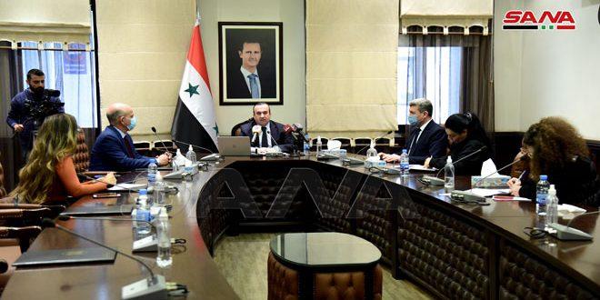 Minister Makhlof: government allocates 63 billion SYP for municipalities in Syrian provinces