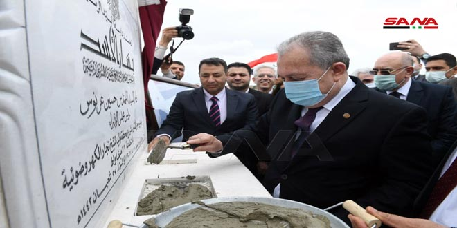 Prime Minister lays foundation stone of Sheikh Najjar photovoltaic power station