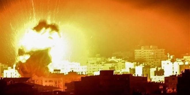 Israeli occupation warplanes renew aggression on the besieged Gaza Strip