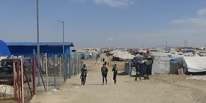 Russia calls for saving thousands of children in al-Haul Camp in Hasaka countryside, controlled by US occupation and QSD militia