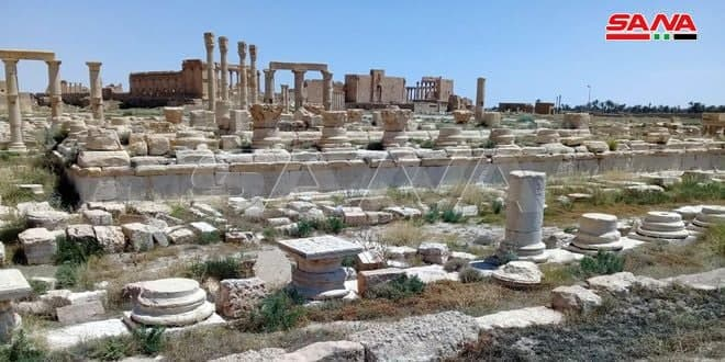 Syrian-Russian mission to rehabilitate ancient archeological sites in Syria