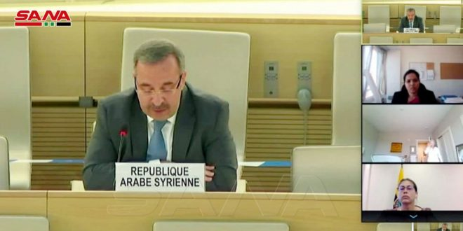 Ambassador Ala: Reports of commission of inquiry on Syria lack credibility or professionalism
