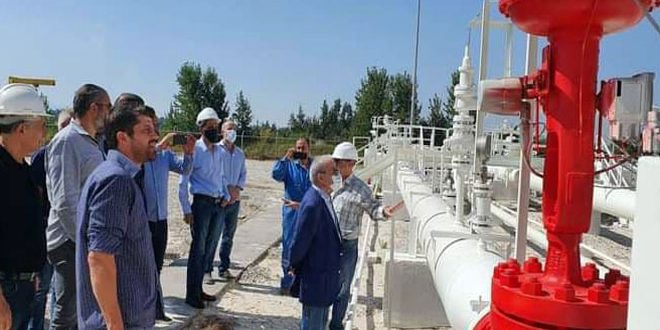 Joint Syrian-Lebanese technical team to check Arab Gas Pipeline at Lebanese side