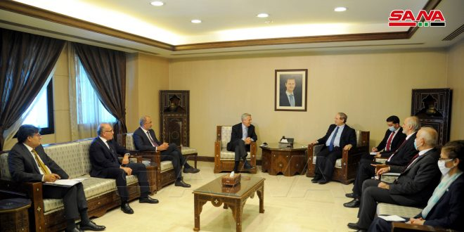 Mikdad: Syria is keen to cooperate with UNHCR to facilitate return of Syrian refugees