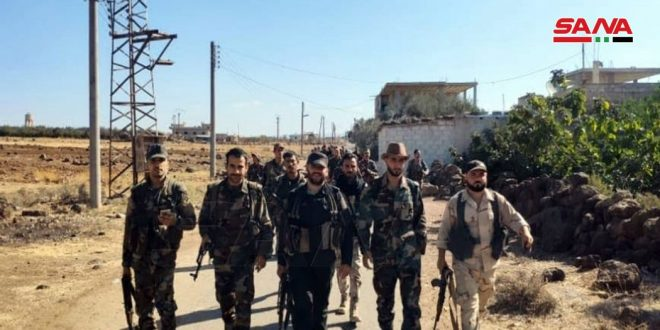 Army units comb two villages in Daraa countryside