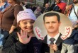 celebracion de la comunidad siria por recuperacion de Palmira
