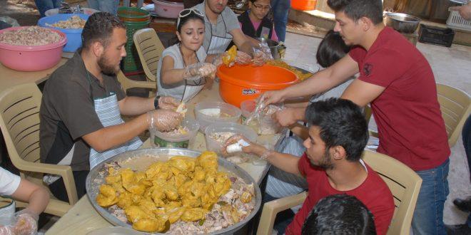 """Damasco: """"Kisrat Khubz"""" una iniciativa juvenil para ayudar en el mes de Ramadán a las familias damnificadas."""