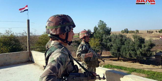 Ejército sirio fija puntos militares en dos nuevos poblados en el oeste de Hasakeh