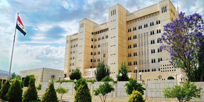 Cancillería siria denuncia nuevos crímenes del ocupante turco en Siria