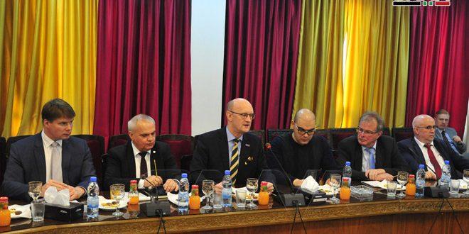 Delegación parlamentaria alemana sostiene conversaciones en Damasco y pide levantar las sanciones impuestas a Siria