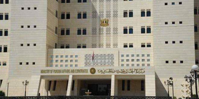 Siria ratifica determinación para salvar a los sirios de las nefastas prácticas del terrorismo