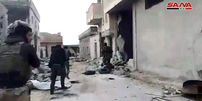 Ejército sirio controla mayor parte de la ciudad de Maarat al-Numan en Idleb