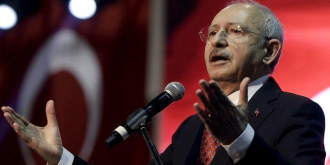 Kılıçdaroğlu: Erdogan es herramienta en manos de potencias exteriores